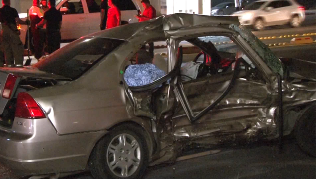 Husband who lost wife, son in deadly crash in Juarez treated