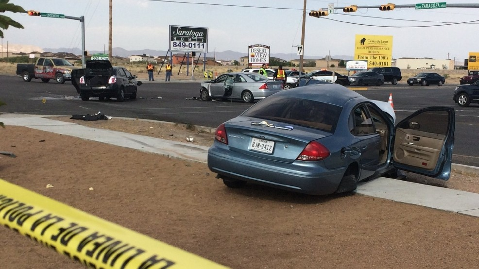 Jaws of Life used in far east El Paso crash, two injured | KFOX