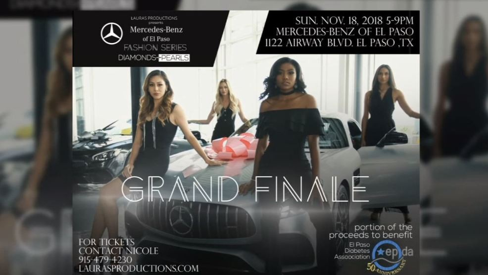 Mercedes El Paso >> Hit The Red Carpet Mercedes Benz Of El Paso Fashion Series