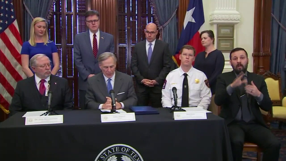 Gov Abbott Declares Public Health Disaster Orders All Texas Schools Closed Kfox