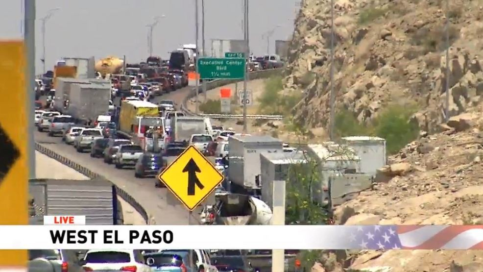 Avoid I-10 around Sunland Park