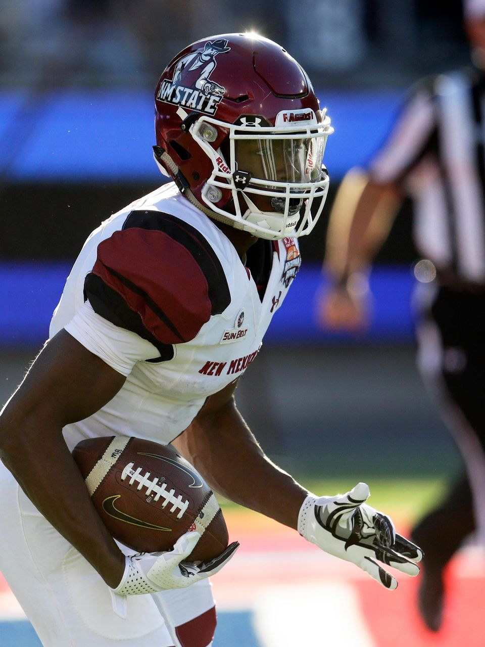 Former Nmsu Rb Jason Huntley Drafted By Detroit Lions Kfox