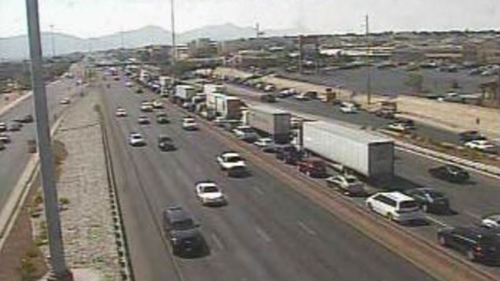 All lanes closed on I-10 west at Lee Trevino due to deadly