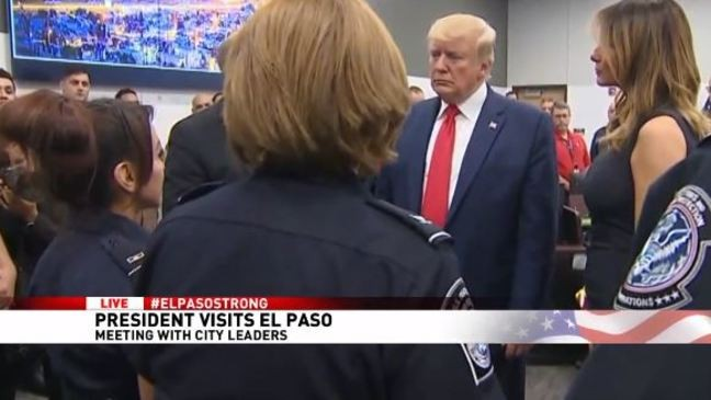 President Trump meets with law enforcement, first responders