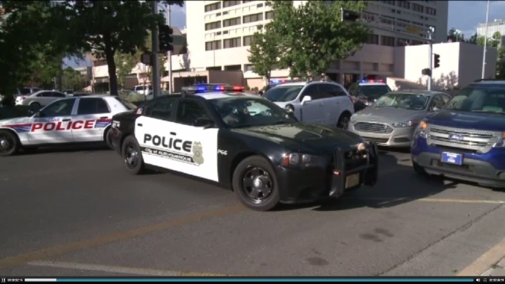 Albuquerque City Hall put on lock down as police search for
